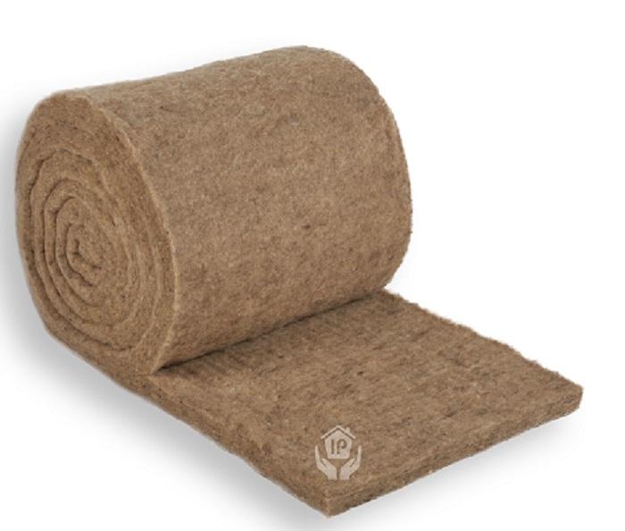 Isolena Klemmfilz Dicke 30 mm, Breite 60 cm Hochleistungsdämmung aus 100% Schafschurwolle