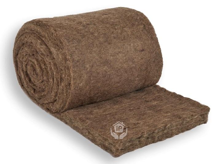 Isolena Schafwolldämmung Optimal 18 100% Schafschurwolle, Dicke 100 mm, Breite 60 cm