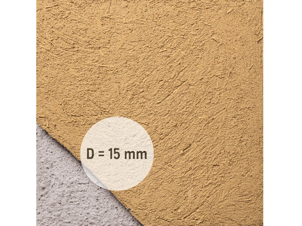 Claytec Lehm-Unterputz mit Stroh/ erdfeucht /BigBag/500 kg