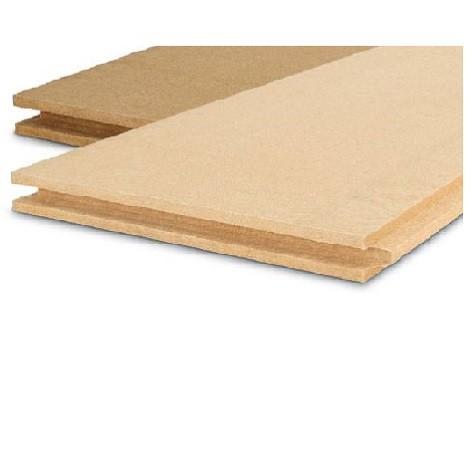 Steico duo, kombinierte Unterdeck- und Wandbauplatte, Nut und Feder, Platte, Dicke 60 mm