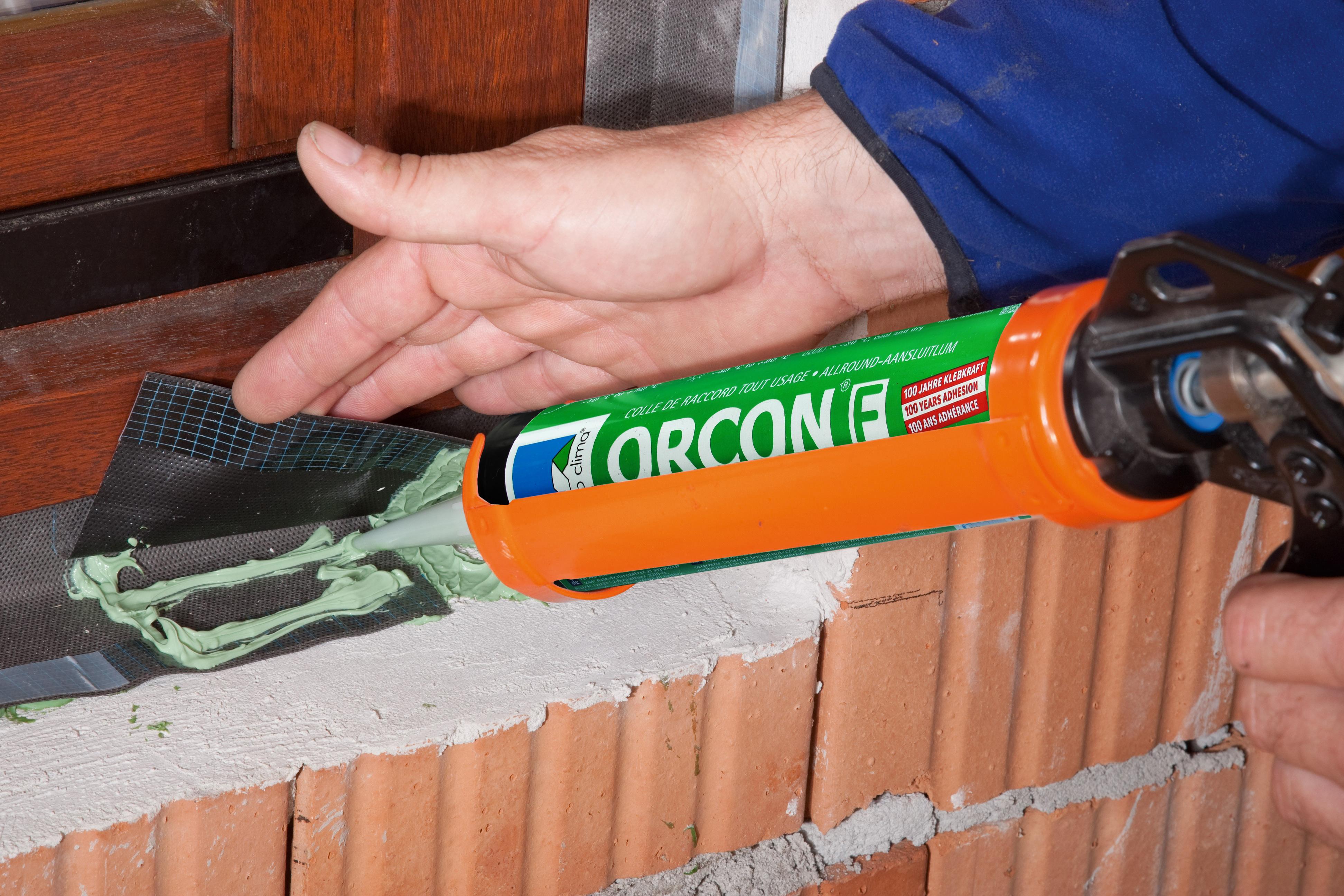 Pro Clima, ORCON F,  Allround-Anschlusskleber für innen und außen, Kartusche 310 ml